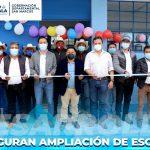 INAUGURAN AMPLIACIÓN DE ESCUELA RURAL EN ESQUIPULAS PALO GORDO